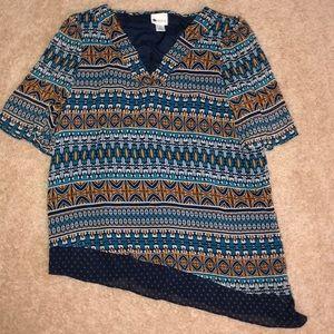 STYLUS (JCP)  blouse NWOT